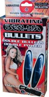 Ben Wa Vibrating Bullets Silver