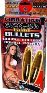 Ben Wa Vibrating Bullets Gold