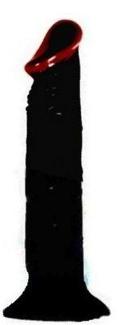 Afro American Whopper Vibrator 8 Inch
