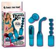 Waterproof Travel Kit?? Mini-Massager Teal