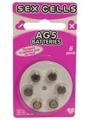 Sex Cells Ag5 Batteries 6 Pack