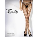 Diamond Fishnet Panty Hose Red Os