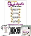 Bachelorette Dare Me Check List Tee Shirt