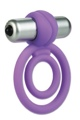 Lamour Silicone Dual Vibro Ring Purple