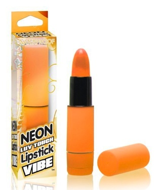 Neon Luv Touch Lipstick Vibe Orange