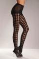 Lycra Crochet Patterned Pantyhose