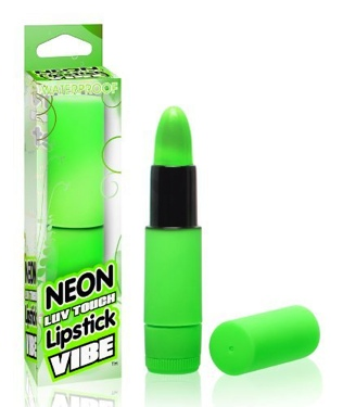 Neon Luv Touch Lipstick Vibe Green