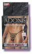 Adonis Mens Mesh Pouch -Leopard