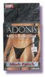 Adonis Mens Mesh Pouch -Black