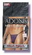 Adonis Mens Mesh Pouch -Purple
