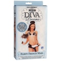Diva Dreams Frnch Maid Plus Size WithDong