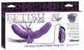 Fetish Fantasy Elite Vib Double Delight Strapon