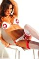 Pvc Hot Nurse Costume