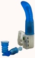 Blue Delilah Vibe With2 Attachments