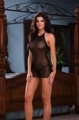 Babydoll And Thong Black O/S