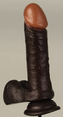 Realistic Cock-6 Black Bx