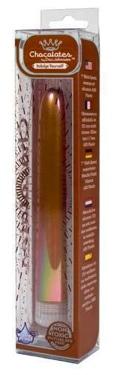 Chocolate Colored Metallic Vibrator 7