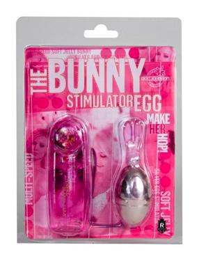Bunny Stimulator Egg Pink