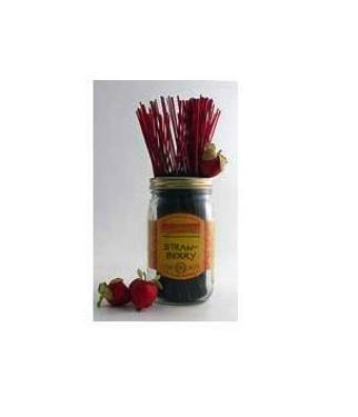Wildberry Incense Strawberry 100Pcs
