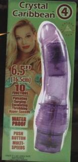 Crystal Caribbean #4 Purple