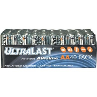 Aa Batteries 40 Box