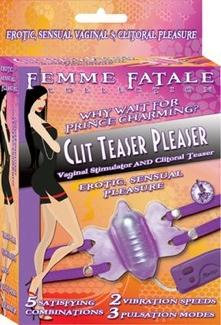 Femme Fatale Clitteaser Pleaser Purple