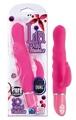 Lia Dual Stimulator Pink