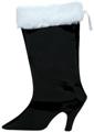 Stocking Large Black Boot