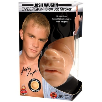 Josh Vaughn Cyberskin Blow Job Stroker